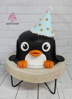 Taart pinguïn cake