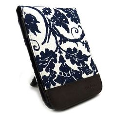 JAVOedge Fleur Flip Case for the Barnes & Noble Nook Simple Touch Reader / with GlowLight (Blue) - Latest Generation by JAVOedge. $25.95. Accent your Nook Touch with the JAVOedge Fleur Flip Case for Barnes & Noble Nook Touch Reader. Bound in canvas, the cover sports a blue floral pattern from front to back for a decorative flourish. Additional touches include an animal-friendly synthetic leather book spine for a nice grip and feel in your hands. The case includes a kic...