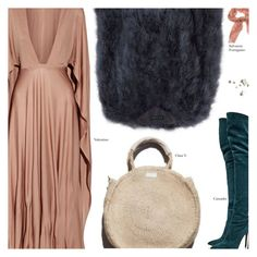 """Untitled #4060"" by amberelb ❤ liked on Polyvore featuring Casadei, Valentino, Salvatore Ferragamo and Garance Doré"