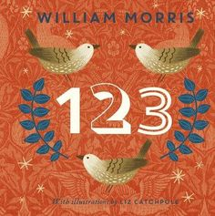 With this beautifully illustrated board book, learn your numbers with William Morris and his lovely designs. Starting with one tree and ending with 10 butterflies, this is the perfect introduction to counting for very young children.
