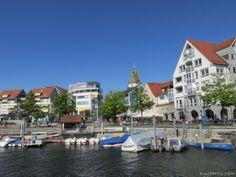 Uferstraße und Seestraße in Friedrichshafen am Bodensee