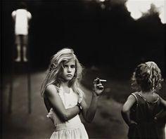 Sally Mann - Candy Cigarette
