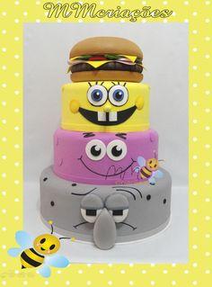 978a8bbc501f7bf85db676c15a2ac5ed--bob-sponge-character-cakes.jpg (736×995)