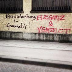Made my day! #picoftheday #rechtschreibung #grammatik #eleganz #verzicht