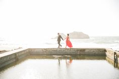 San Francisco Engagement Session: Sutro Baths & Golden Gate Park – Vannia + Felix