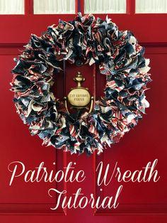 Patriotic Wreath Tut