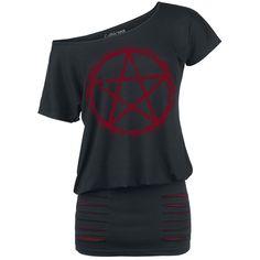 Penta Dress - Krátké šaty dle Gothicana by EMP