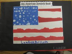 The Alphabet Garden: The Very Busy Spider, American Symbols and Matchbook Sentences