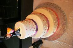 torta di nozze a piani