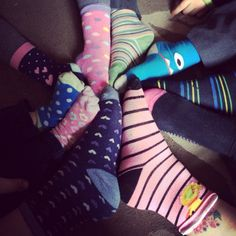 Rocking our #lotsofsocks for World Down Syndrome day