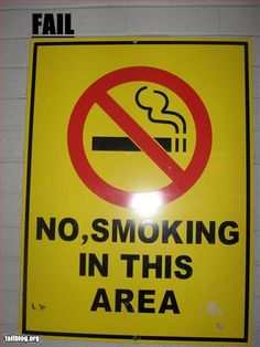 Yes, smoking is disallowed.