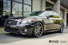 Infiniti M37 with 22in Vossen VFS1 Wheels by Butler Tires and Wheels in Atlanta GA