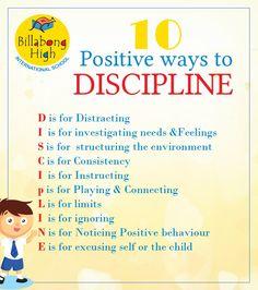 ten lines on discipline