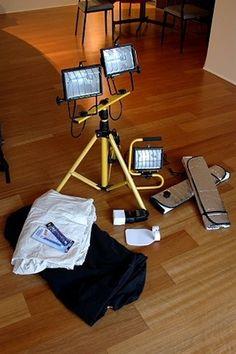 Putting Together a Budget DIY Lighting System | Shuttertalk