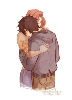 I always wanted to draw Lily and Harry together, but this whole situation just breaks my heart.