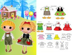 Big Sister Pattern Fairy Tale Costumes 13 Inch by QuirkyArtistLoft, $5.00