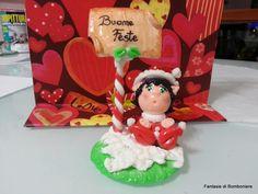 elfetta natalizia personalizzabile