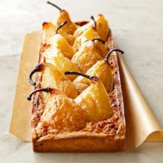 Tatte Pear Tart - No recipe, but isn't this beautiful? Tatte is a much loved bakery in the Boston area. Hopefully one day they will publish their recipes in a book.