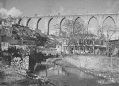 Aqueduto e Ribeira de Alcântara, 1912