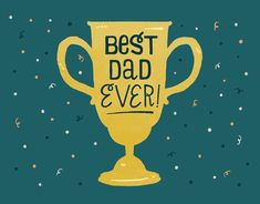 Best Dad card by Emma Trithart on Postable.com