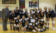 Girls Volleyball Team = District Champs in 2011!! Way to go Panthers!
