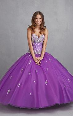 2014 Purple Quinceanera Dresses Sweetheart Appliques Ball Gown Vestido De Debutante Gowns Simple Design Masquerade Dresses $189.00