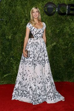 Pin for Later: See All the Red Carpet Glamour at the Tony Awards Ivanka Trump