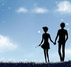 1 million+ Stunning Free Images to Use Anywhere Cute Couple Art, Anime Love Couple, Couple Cartoon, Anime Couples, Cute Couples, Fantasy Love, Love Backgrounds, Couple Illustration, Couple Wallpaper