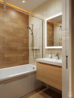 Проект квартиры в Москве on Behance Best Bathroom Designs, Modern Bathroom Design, Bath Design, Small Half Bathrooms, Amazing Bathrooms, Small Bathroom, Clever Kitchen Ideas, Neoclassical Interior, Loft Design