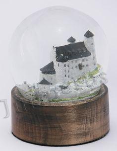 Castle Bobolice in Poland. Poland, Snow Globes, Castle, Artisan, Deviantart, Decor, Decoration, Castles, Craftsman