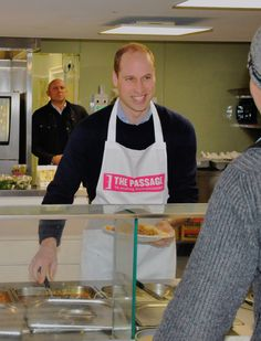 """"""" Proud to announce The Duke of Cambridge has become our Royal Patron. He first visited The Passage as a child and has spoken of the lasting impression made. Today he joined volunteers at a lunch. Duchess Kate, Duke And Duchess, Diana Son, Prinz William, Prinz Harry, Baby George, House Of Windsor, Duke Of Cambridge, The V&a"""