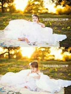 in her mom's wedding dress Little Girl Wedding Dresses, Baby In Wedding Dress, Wedding Dress Pictures, Twin Pictures, Toddler Pictures, Girl Photo Shoots, Photographing Kids, Photo Ideas, Picture Ideas