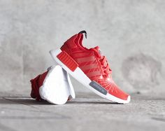 For Sale:   Red Adidas Originals NMD Runner Trainers available here at Galaxy Sports for £99.95   UK Sizes 4, 4.5, 5, 5.5, 6, 6.5 available  RRP: £129.95 100% Authetic Worldwide Shipping Free Returns  Photo Credits: upmulverston