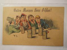 Betrunkene Pennäler Guten Morgen Herr Fischer Studentika   eBay
