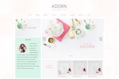 Adorn your website with the new Adorn theme! Let your products stand out and get your customers to where they need to go easily and simply! The Adorn theme is specifically designed to draw your cus...