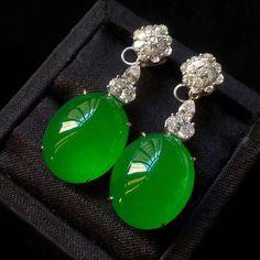 Jade Jade Earrings, Jade Jewelry, Ring Earrings, Jewelry Art, Jewelry Design, Expensive Jewelry, Imitation Jewelry, Stylish Jewelry, Jewelry Patterns