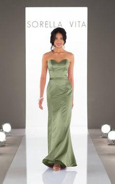 7da1a24207f Classic Strapless Bridesmaid Dress - Sorella Vita Bridesmaid Dresses