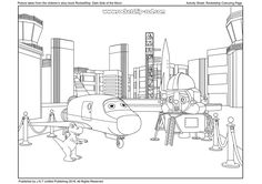 RocketShip Activity 8 Colouring Sheet