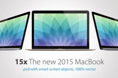 Apple MacBook 2015 Mockup by RadekBroz on Creative Market