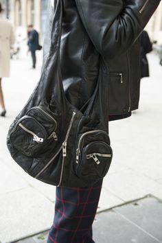A classic Alexander Wang bag is a downtown girl's best friend.