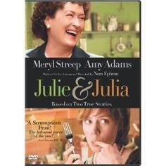 Julie & Julia (2009)  Meryl Streep (Actor), Amy Adams (Actor), Nora Ephron (Director)|Rated:PG-13|Format:DVD