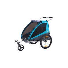Le Thule Coaster est une remorque pour vélo robuste, sûre et confortable que vous pouvez facilement transformer en poussette une fois arrivé à destination.Kit de remorque pour vélo et kit de marche inclus.Transformation aisée de la remorque en poussette.Fixation sécurisée au vélo grâce au système breveté ezHitch™ de ThuleSièges confortables pour deux enfantsCoffre à l'arrière