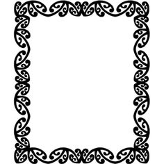 Maori Designs Border Clipart - Free to use Clip Art Resource - ClipArt Best
