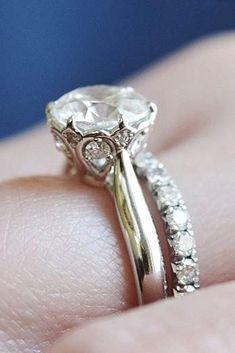 Dazzling Diamond Engagement Rings Of Her Dreams ❤ See more: http://www.weddingforward.com/diamond-engagement-rings/ #weddings #DazzlingDiamondEngagementRings