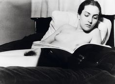 Meret Oppenheim,by Man Ray