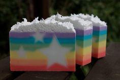Magical Freakin Unicorn Fart Soap Bar 4oz by OakStreetSoap on Etsy, $5.00