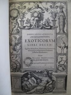 Title page for Exoticorum