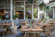 AL FRESCO DINING  Appetizing Design: 10 New and Noteworthy NYC Restaurants | Projects | Interior Design
