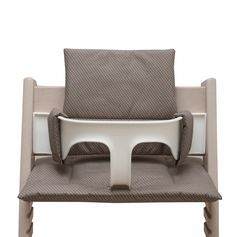 Cushion for Tripp Trapp High Chair - Taupe with small dots Baby Set, Outdoor Chairs, Outdoor Furniture, Outdoor Decor, Baby Accessoires, Chair Cushions, Etsy, Taupe, Design