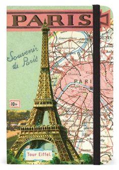 Cavallini Vintage Paris Pocket Notebook